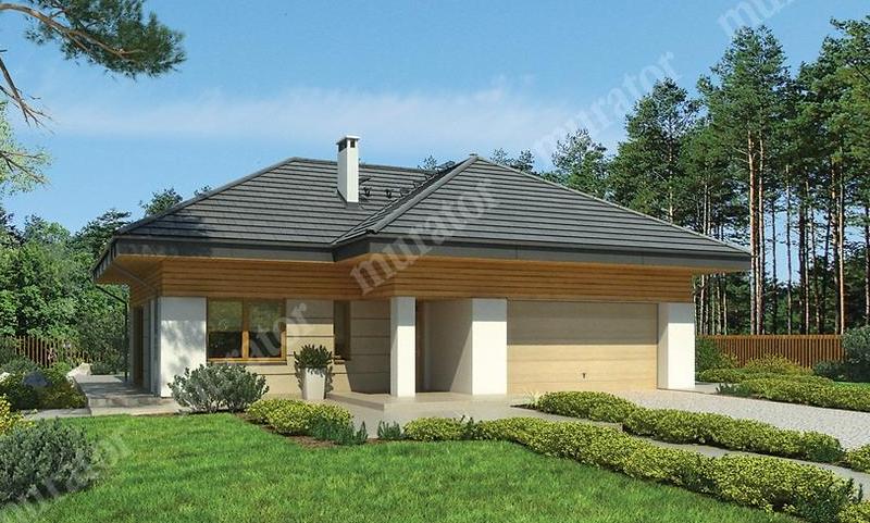 Projekt domu Wrzosowe wzgórza m186