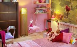 Ściany w pokoju dziecięcym: wybieramy farby