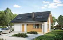 Dach dwuspadowy: projekt dachu. Zalety dachów dwuspadowych