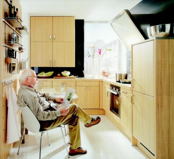 Kuchnia wygodna dla osób starszych