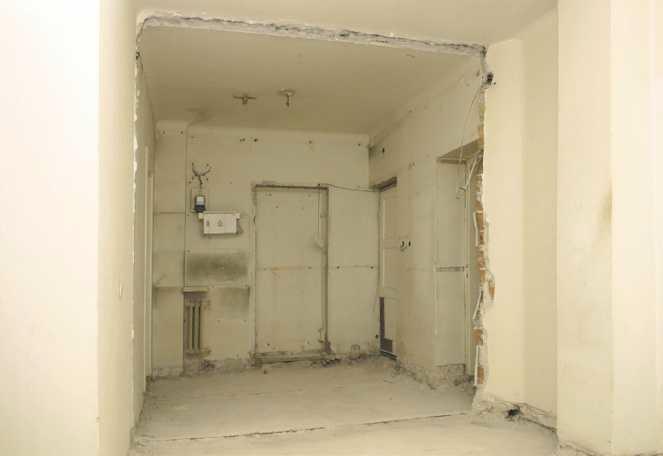 Wyburzenie ściany działowej
