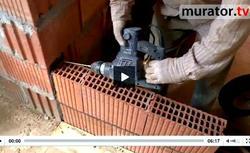 WIDEO: Ściany działowe z ceramiki poryzowanej - różne sposoby wiązania murów