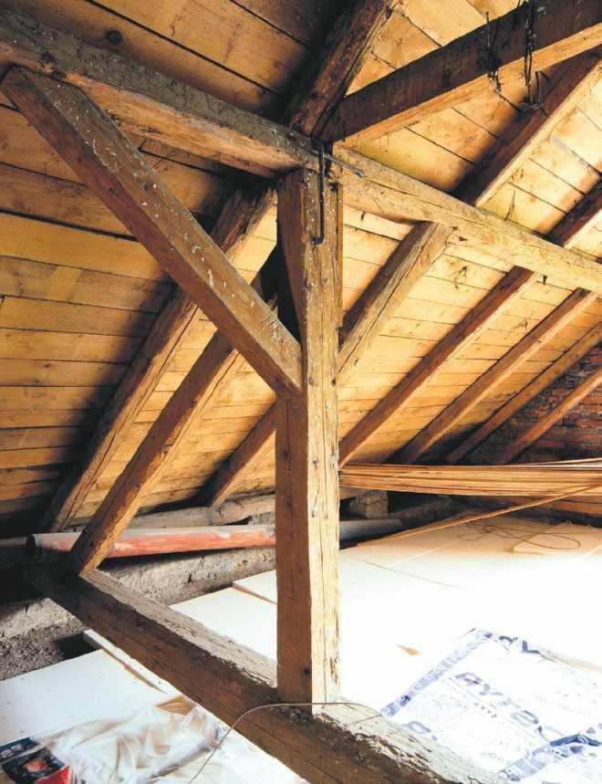 Naprawa konstrukcji dachu
