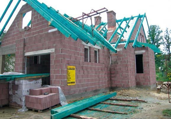Budowa konstrukcji z drewna impregnowanego