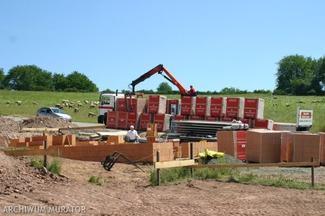 Dom murowany czy dom drewniany? - budowa domu murowanego