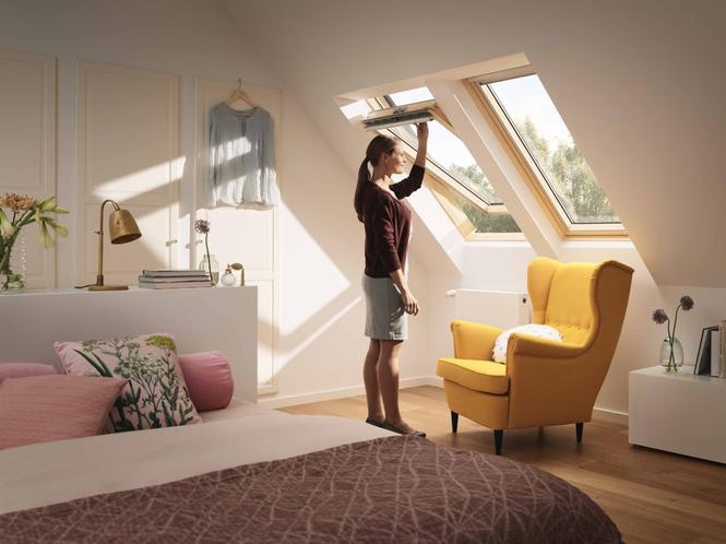 Trzyszybowe okno dachowe VELUX GLL