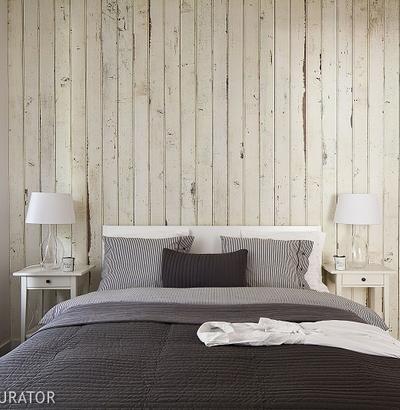 Fototapeta do sypialni - imitacje