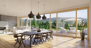Okna pionowe INNOVIEW – nowe spojrzenie na domową przestrzeń