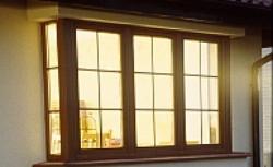 Okna w okleinie drewnopodobnej